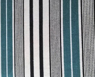 designers guild pin stripe teal